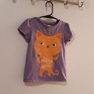 🐯Old Navy Shirt, Girls Size 4T, Too Cute🐯